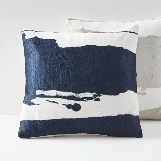 Ink Abstract Pillow Covers -