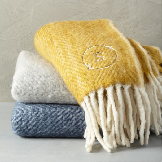 Herringbone Soft Touch Throw -