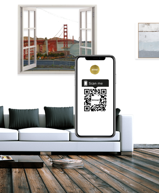 Scan - No app install required!1. Look out for the 'Scan me' tags.2. Open the camera on your phone3. Focus on the black square (QR Code) for 2-3 seconds4. A link to our website will pop up on your screen5. Click on the link!