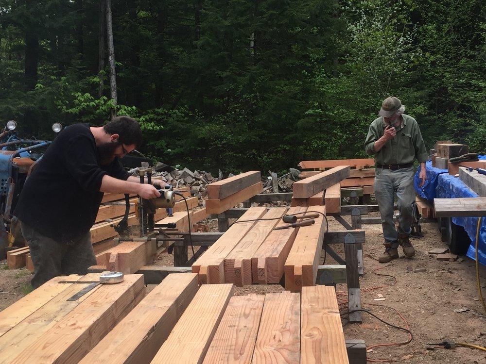 Timber Frame Yard
