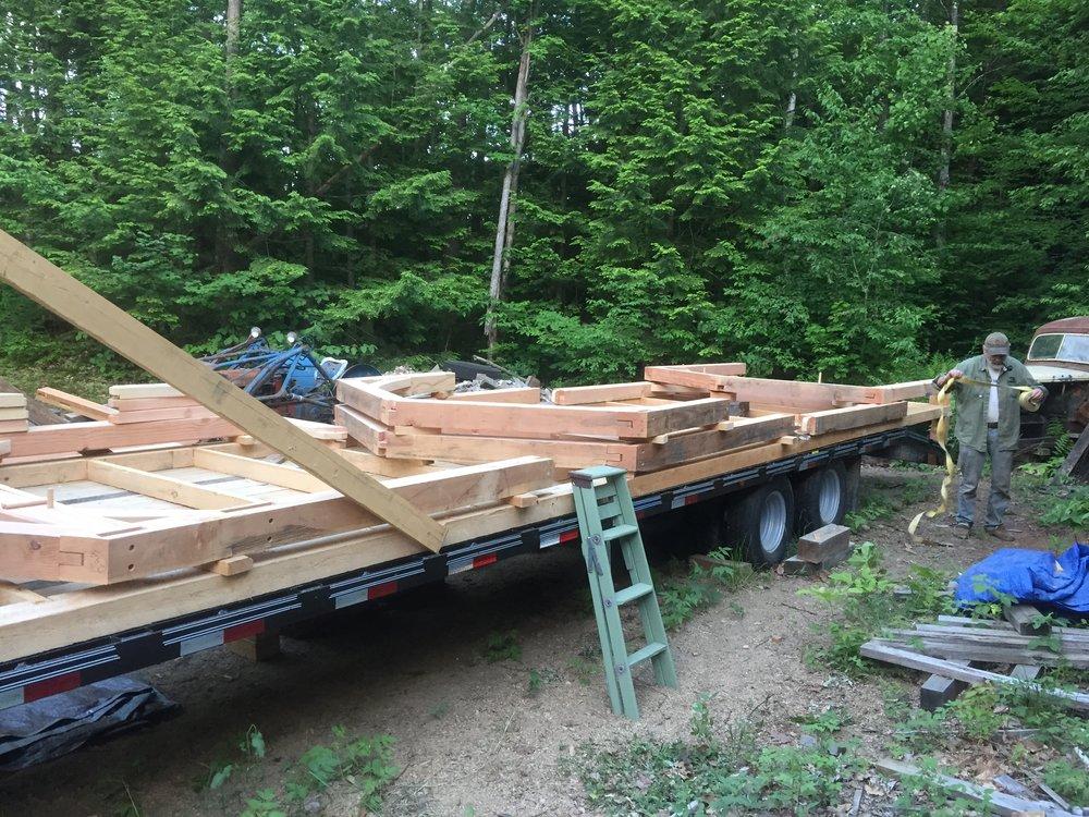 Timber Frame Bents