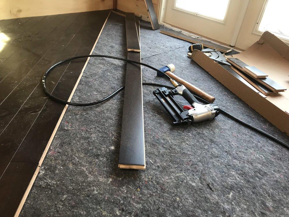 Finish Flooring