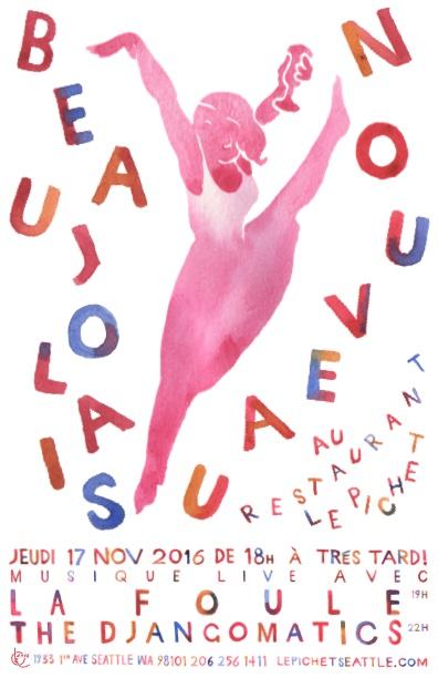 Beaujolais Nouveau 2016 (Rockette)