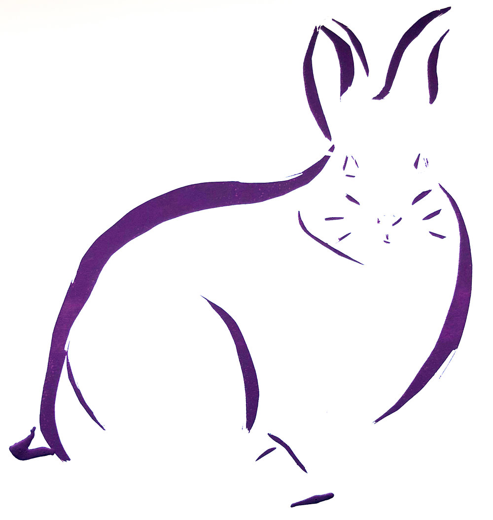 Line Animal: Rabbit