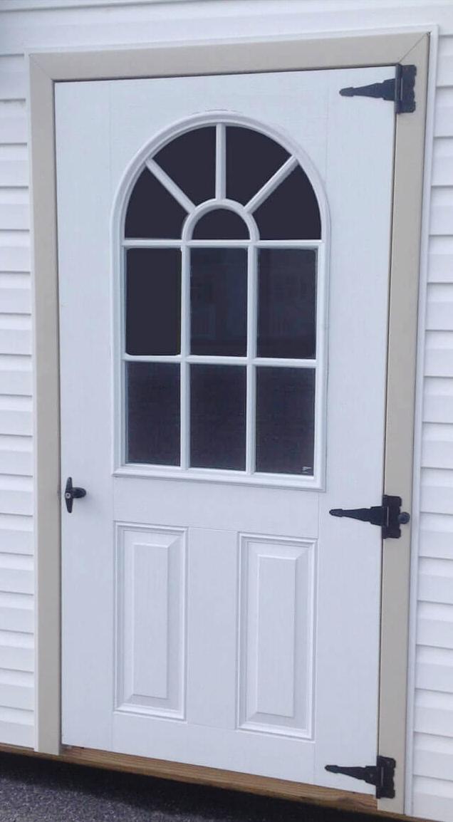 Add 11-Lite Glass to Fiberglass Door $100 per door