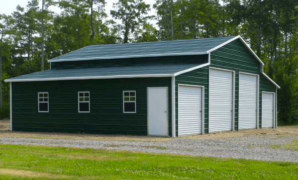Enclosed Agricultural Barn