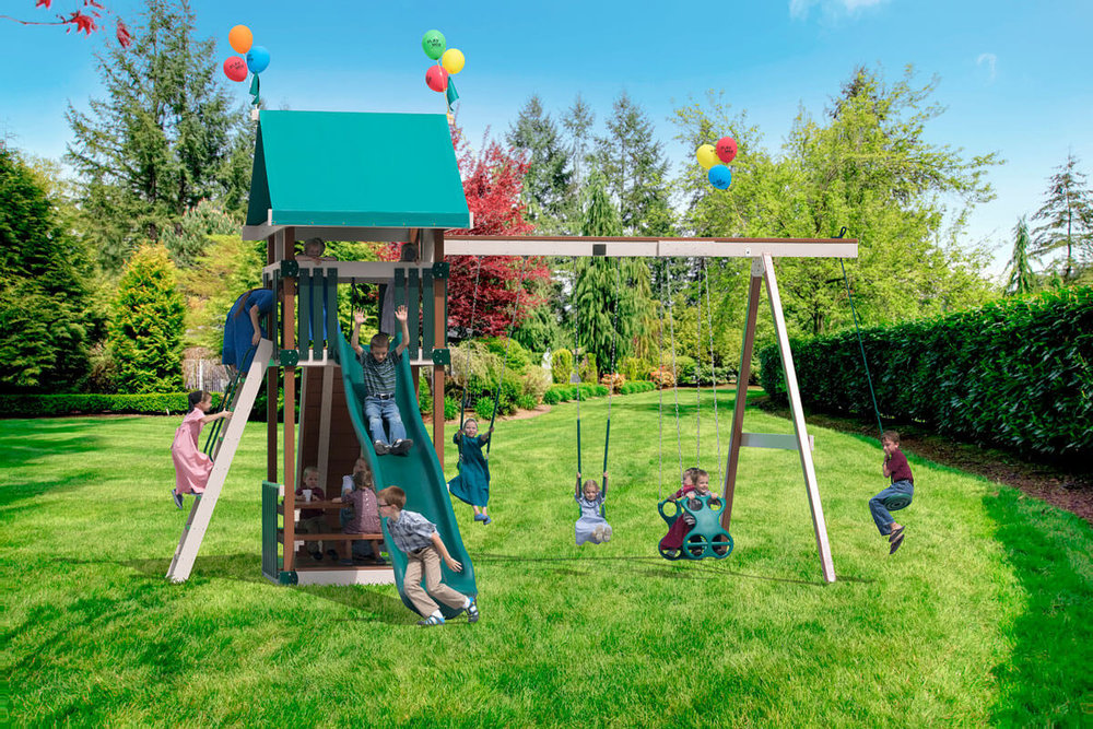 Dimensions: 21.5' L x 20.5' W Floor Height = 7' Swing Height = 10'
