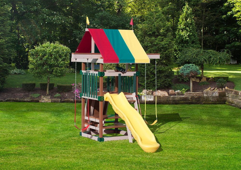 Dimensions: 11' L x 16' W Floor Height = 5' Swing Height = 9'