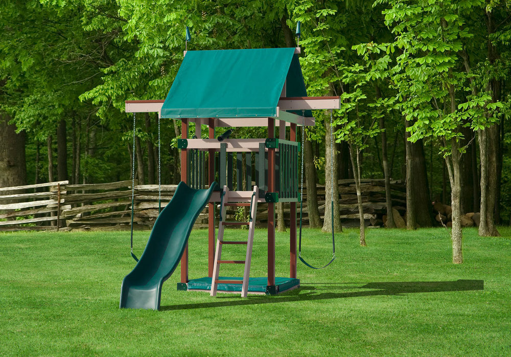 Dimensions: 13' L x 11' W Floor Height = 5' Swing Height = 9'