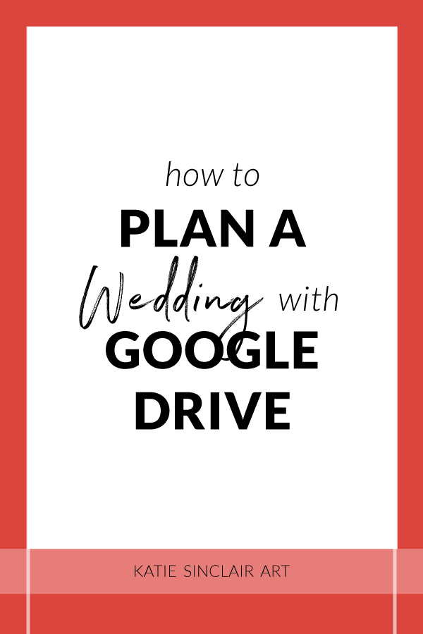 How to Plan a Wedding with Google Drive