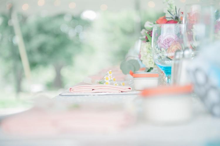 Dreamy Wedding Table Set up
