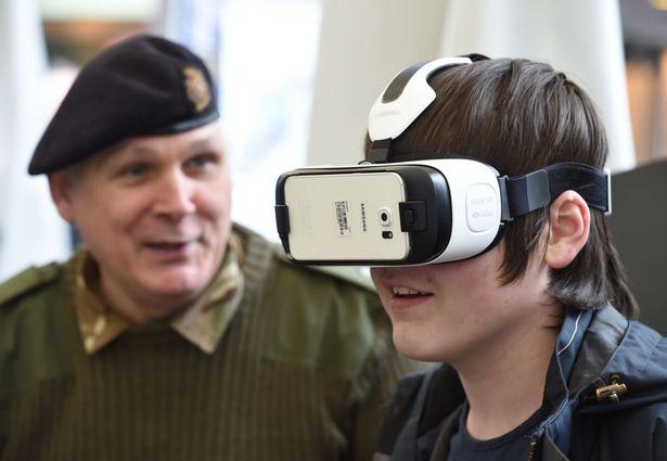 VR esercito inglese