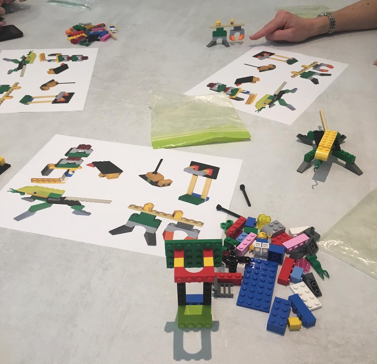 Costruzioni con i mattoncini Lego