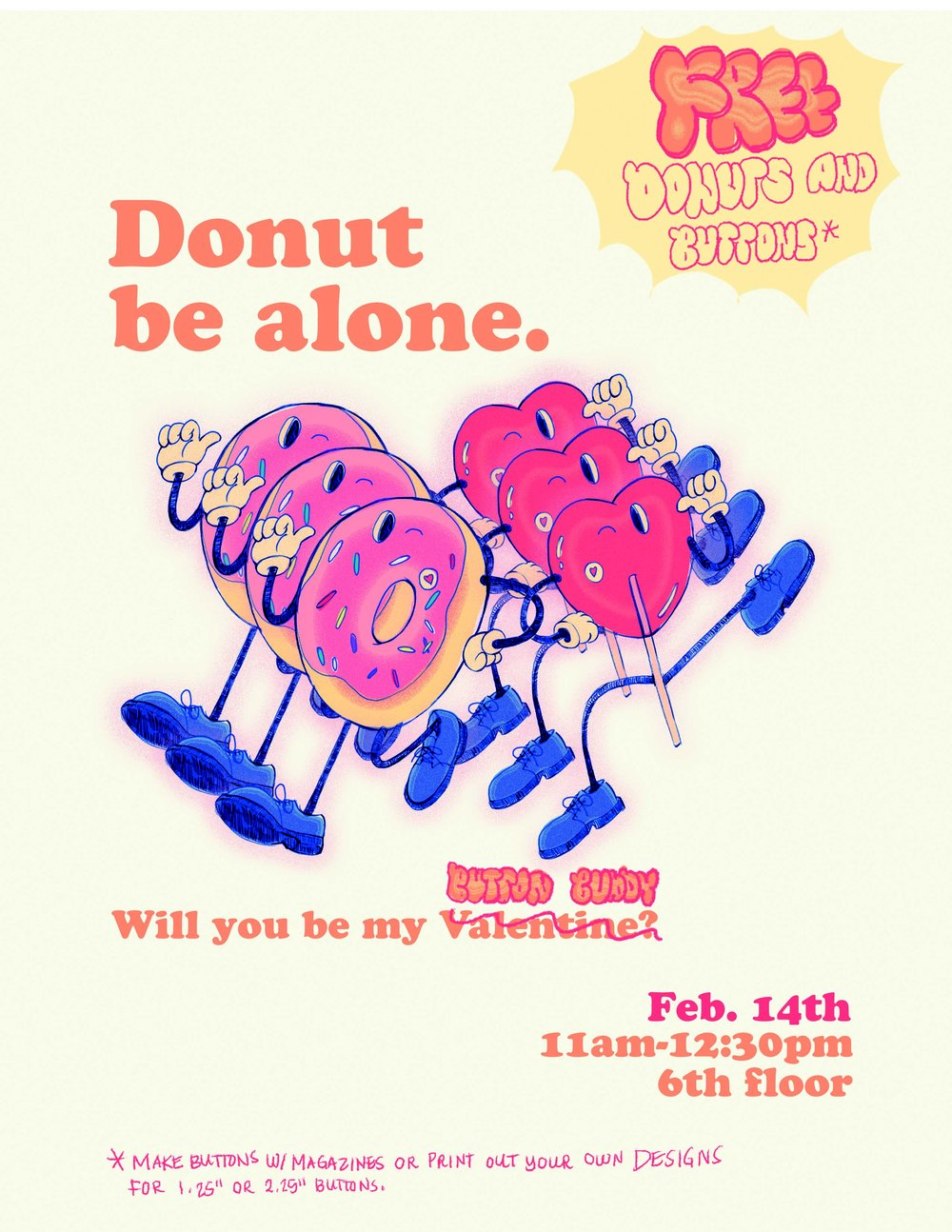 Donut Be Alone