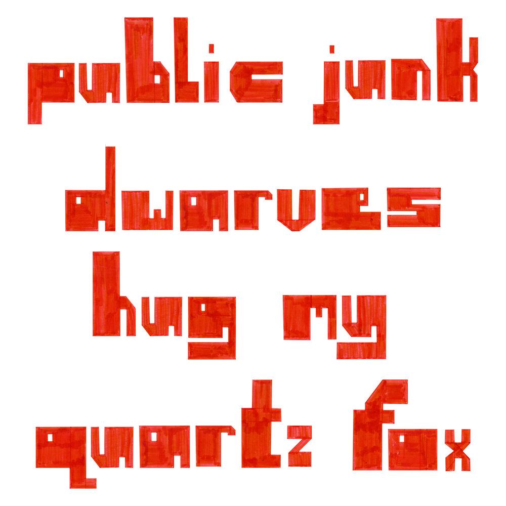 Blocky Typeface