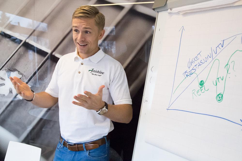 Morten Mørland Finishline