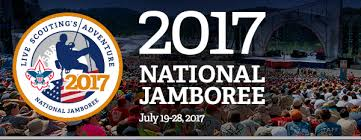 This is a banner for the 2017 National Jamboree. The next Jamboree will be in July 2021 and Troop 890 is planning on sending a contingent. Youth must be 12 years old (as of July 2021) and First Class rank to attend. Expect details to start coming out in late 2019. The next Jamboree will be in the summer of 2025.