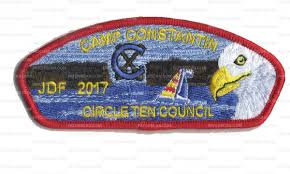 Adults who attend summer camp get a really, really, really cool patch (from 2017) …