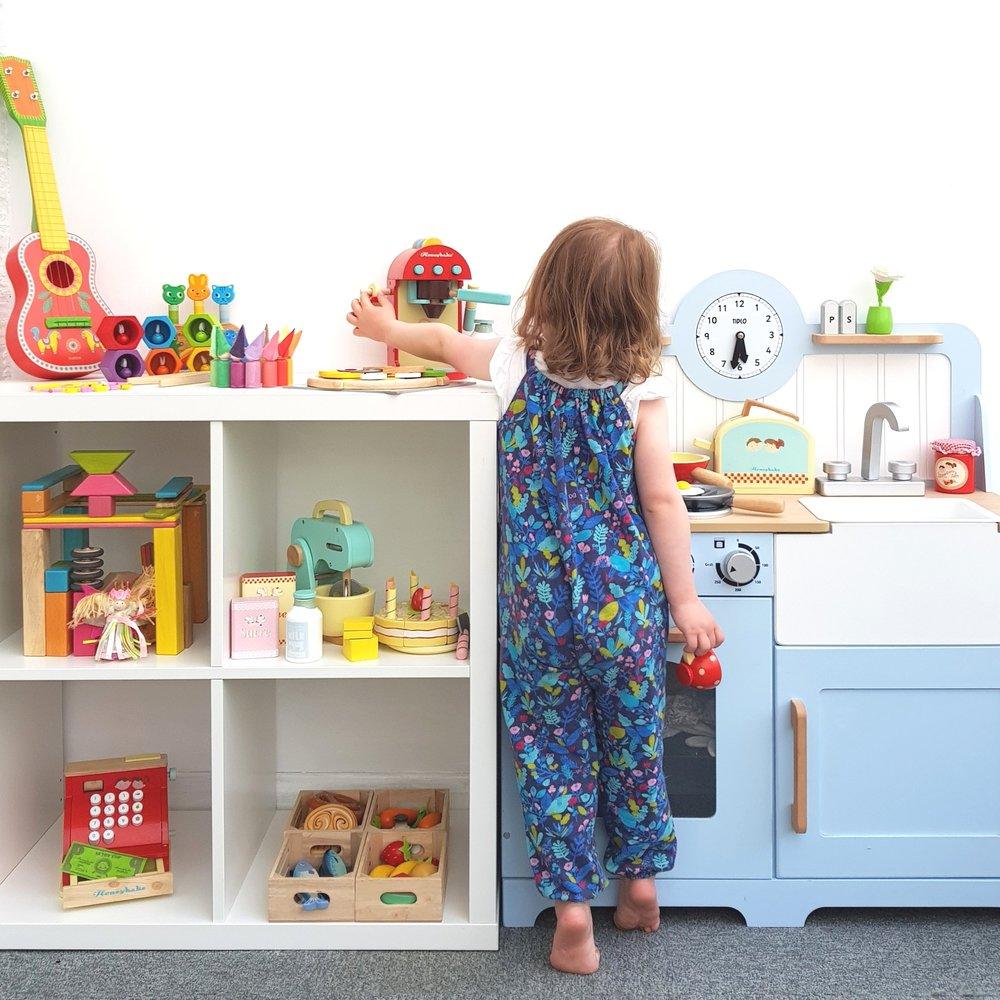 Aoife loves her Tidlo wooden kitchen