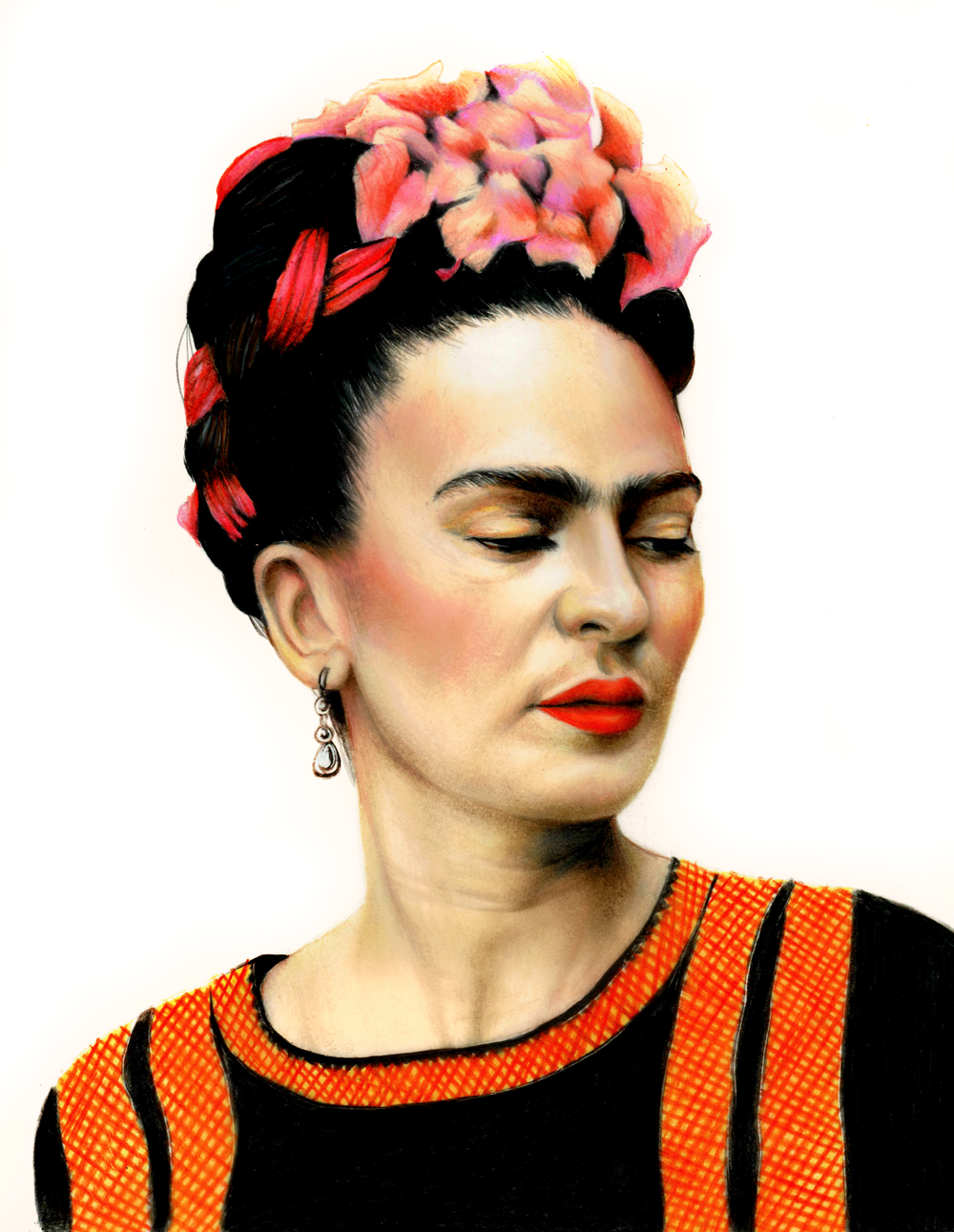 Friday Kahlo Art by Ling McGregor