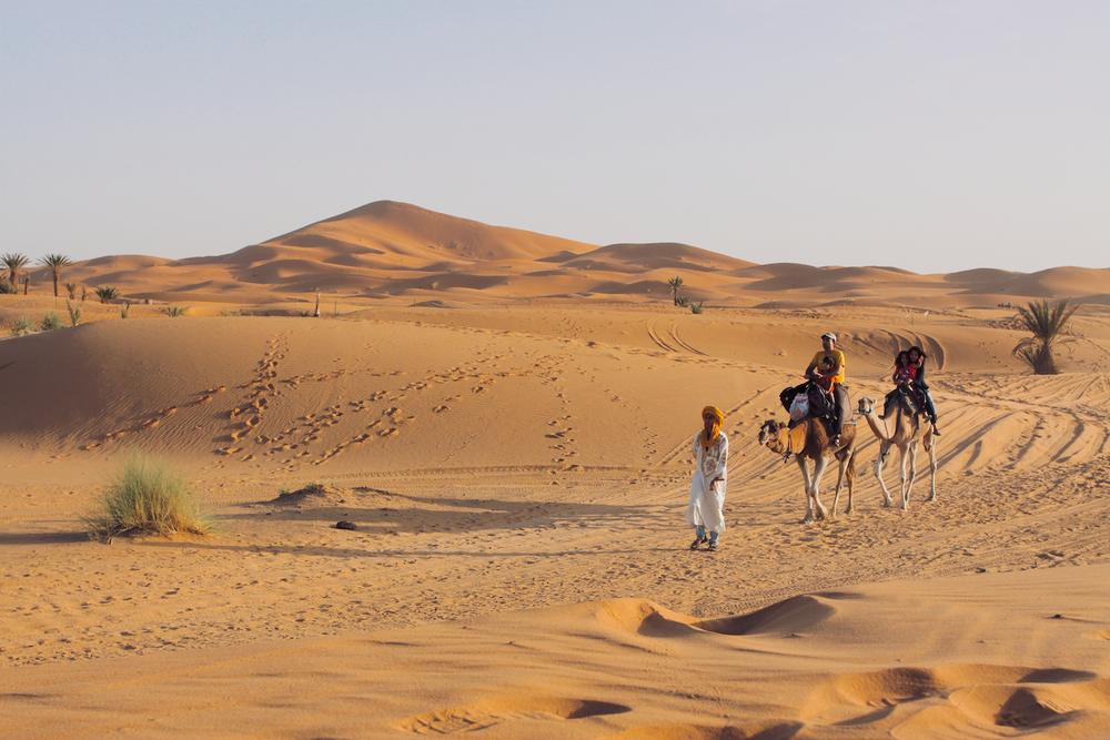 Sahara Desert, Cereal for Lunch