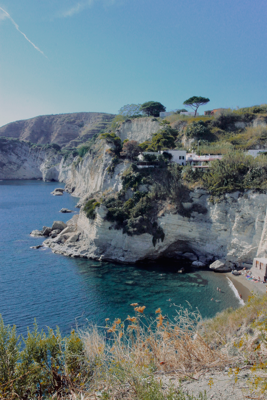 Ischia, Naples clear water and cliffs