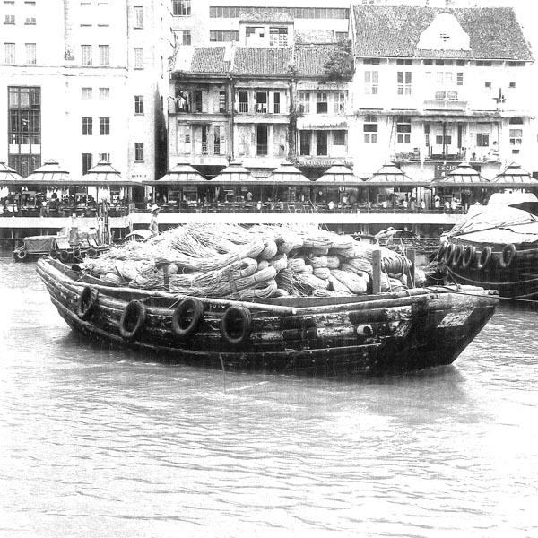 Transporte de ratán,  Sumatra  1971