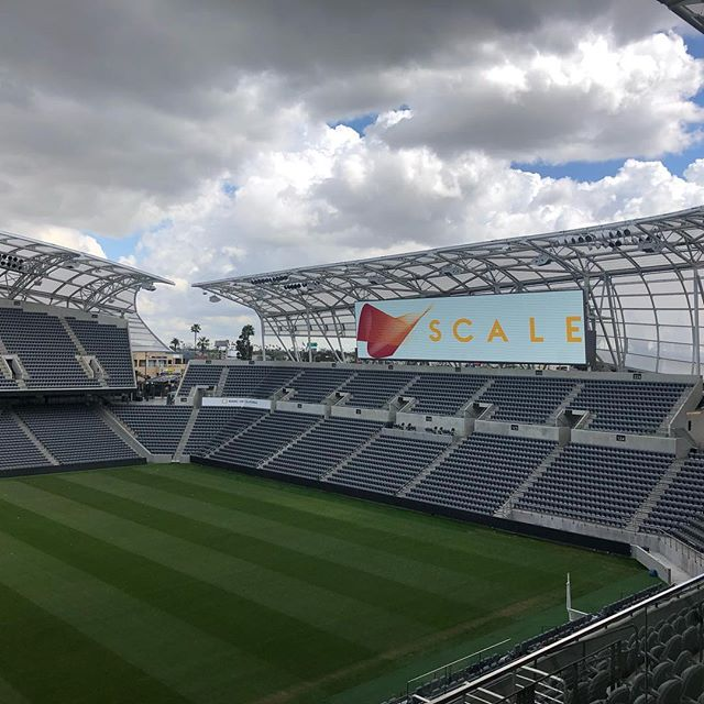 We had an awesome time at SCALE yesterday! Bonus: getting a personal tour of the GORGEOUS new stadium!