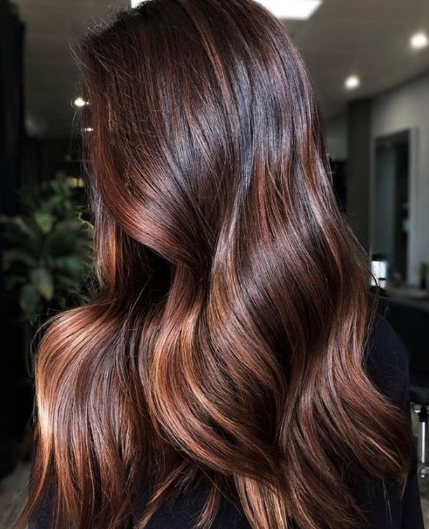 This look is chocoLIT 😏 📷 @studiolioness with a little @redken shades eq in the mix 🖤 ~ #lovehersalon #olaplex #balayage #melbournesalon #melbournehairsalon #melbournehairdresser #melbournehairdressers #colorcorrection #hairmakeover