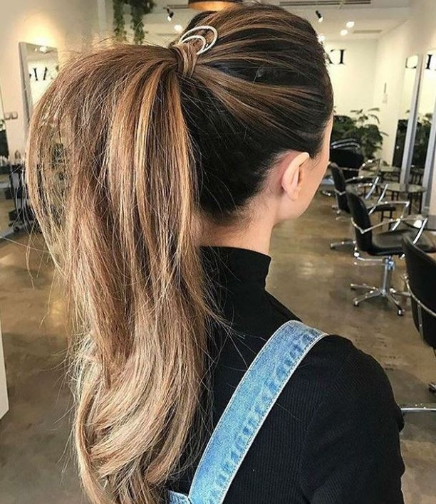 P O N Y • G O A L S image via @meraki_forhair  #ponytail #hairgoals #hairstyle #hair ~ #lovehersalon #olaplex #balayage #melbournesalon #melbournehairsalon #melbournehairdresser #melbournehairdressers #colorcorrection #hairmakeover