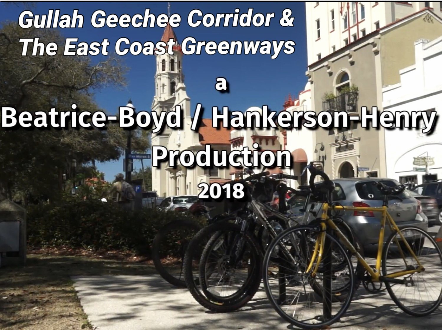 Gullah Geechee Corridor and the East Coast Greenways
