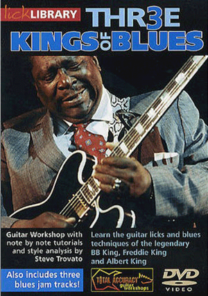 lick library learn to play blues lead guitar