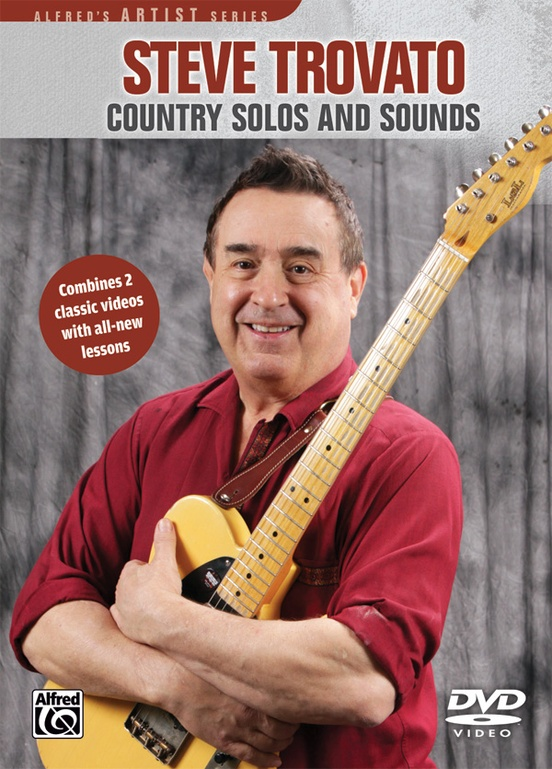Country Solos and Sounds - Product genre: CountrySeries: Alfred's Artist SeriesFormat: DVDSteve demonstrates and explains ideas and techniques that will help you play fantastic country solos, including fast single-note lines, poppin' double-stop lines, hot open-string licks and scales, boogie shuffle lines, and a few of his favorite licks. Learn to recreate the sounds of country greats like Chet Atkins, Albert Lee, Brian Setzer, and more. Steve also helps you choose the right amplifiers and guitars to create the sounds you are looking for. If you are serious about getting an authentic country sound, then this DVD is for you!