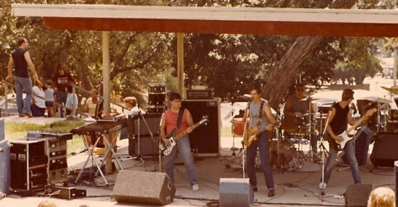 August 1982, Hillcrest Park Fullerton