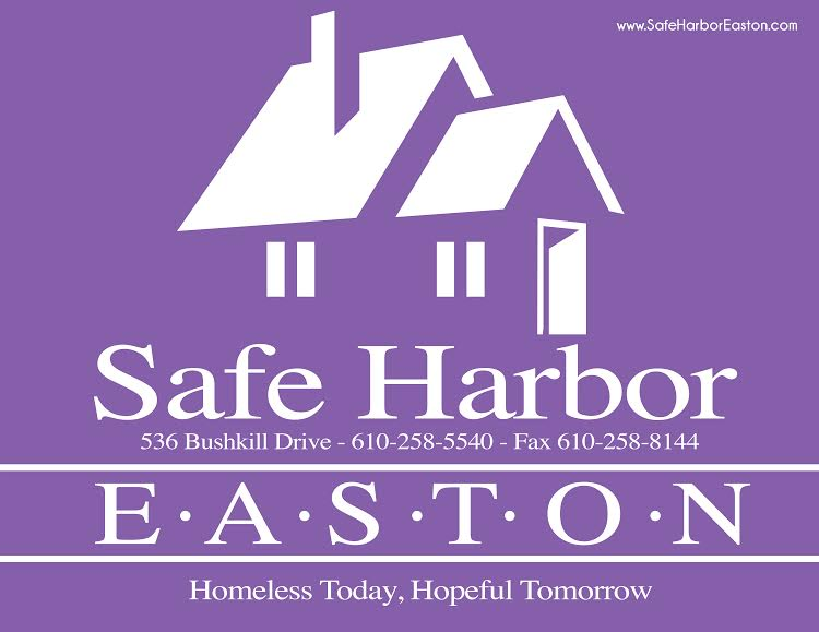SAFE HARBOR Easton - We provide food for lunch each month for this emergency shelter; we also provide and serve a full dinner at the shelter every first Monday of the month. The sign-up sheet to provide dinners is posted on the upstairs Mission Bulletin Board. Teams, groups, or individuals are encouraged to sign up.