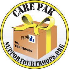Troop Support Project SundaY - This annual drive provides toiletries, other personal articles, snacks, and personal thank-you cards to troops serving overseas.