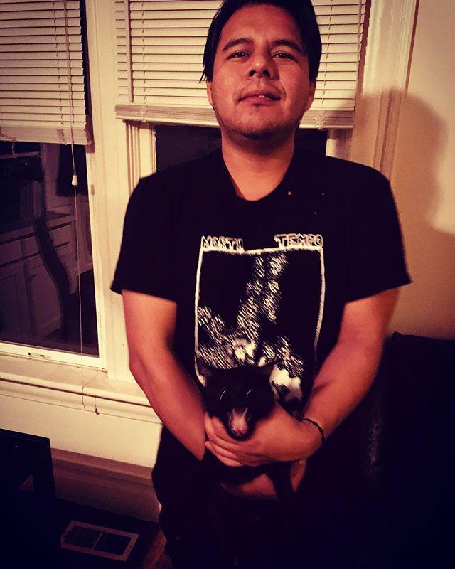 This is Fernando. Fernando plays drums for Lord Vox. You should listen to Lord Vox. Fernando also reps Mortigi Tempo swag. Be like Fernando.  #rocknroll #lordvox #rock #psychedelic #swag #saltlakecity