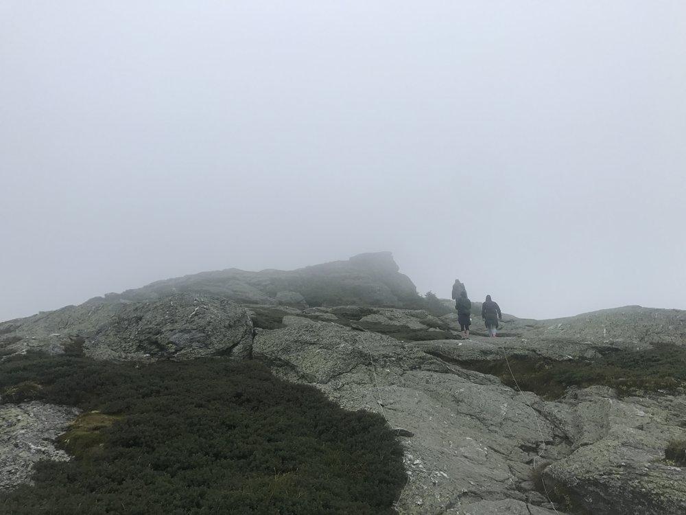 Top of Mount Mansfield