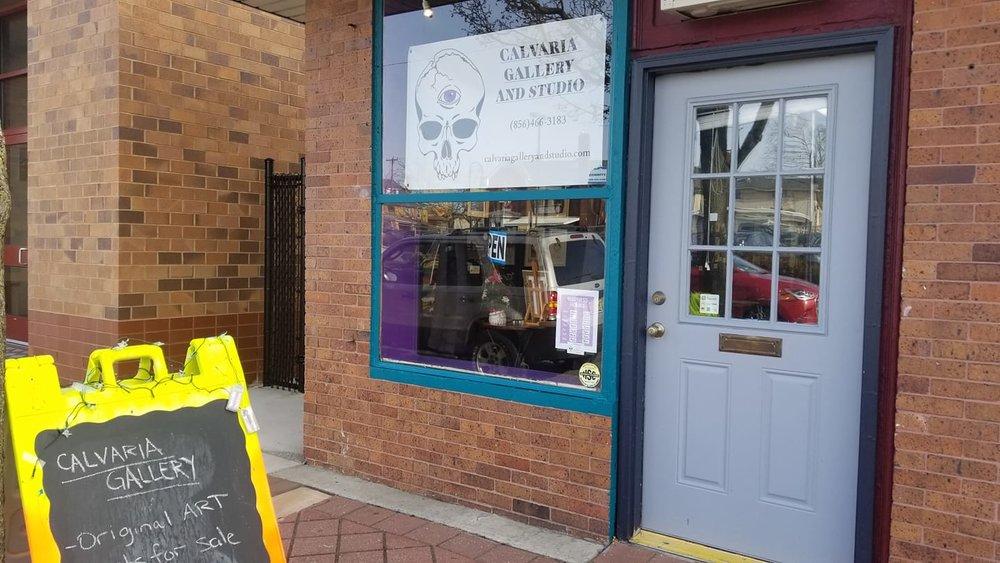 Calvaria Gallery and Studio, 319 N. High Street, Millville, NJ 08332