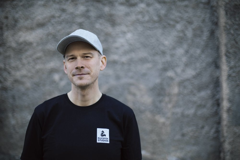 Peter Nilsson wears many different hats in Blackfox Studios.