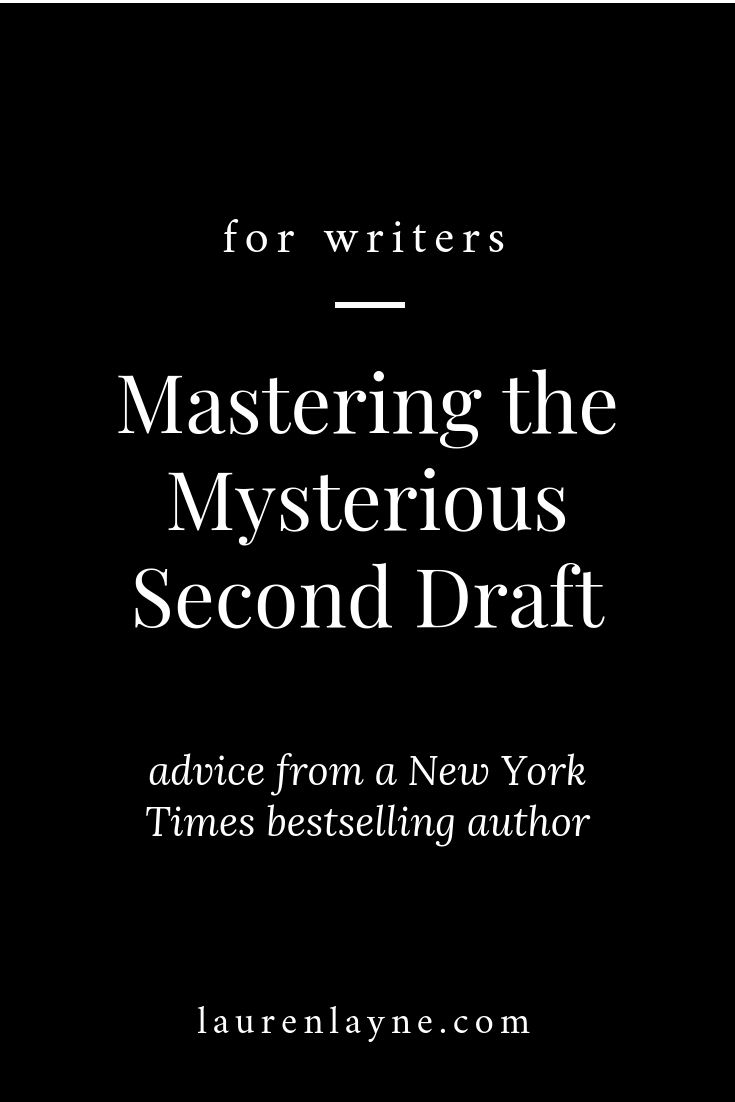 Mastering the Mysterious Second Draft.png
