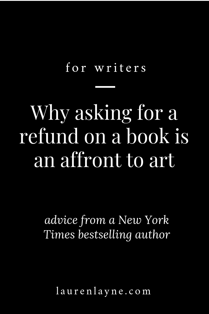 Why asking for a refund on a book is an affront to art.png