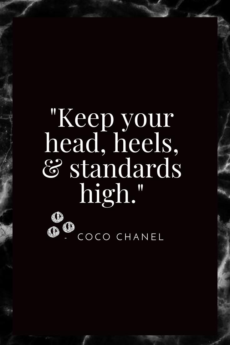 Blog - Pinterest - Quote - Head Heels Standards High.png