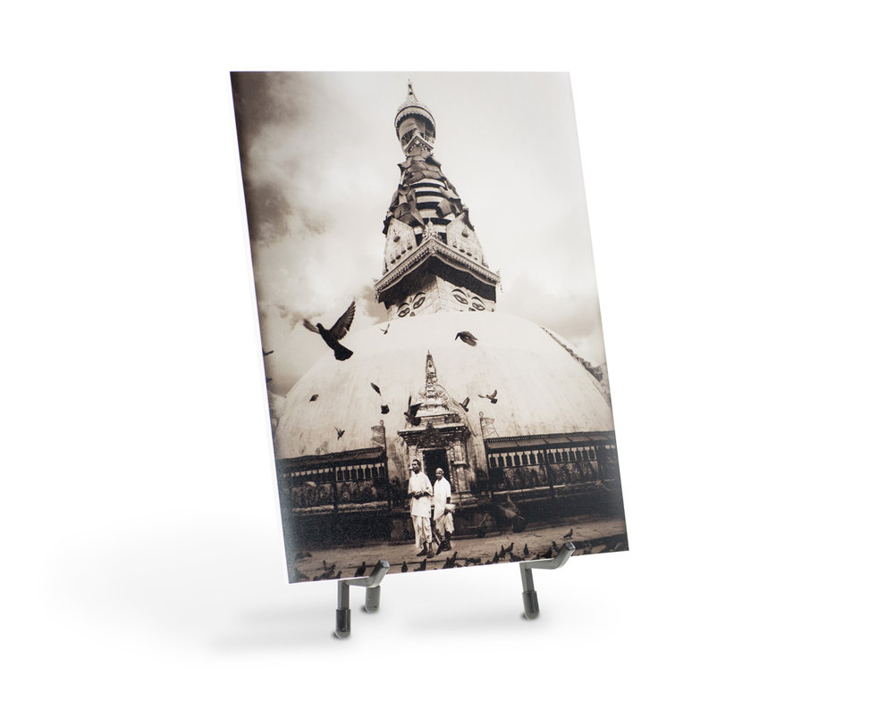 Print your favorites on 3mm mat board or foam core and store them neatly in a custom photo box that comes with easel for display. Custom photo boxes hold 10-40 mounted prints.