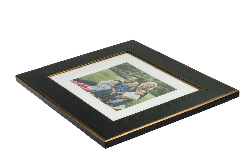 Framed Prints - A classic choice. Print and frame that hero image and hang it above the fireplace or lean back with a smaller print framed with easle. A perfect gift for the holidays! Many frame options to choose from.