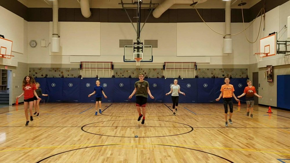 Levitate Jump Rope - Located in Broomfield, CO. Practices in Boulder Tuesdays and Thursdays from 6-8pm. Fridays in Broomfield from 4pm-5:15pm.