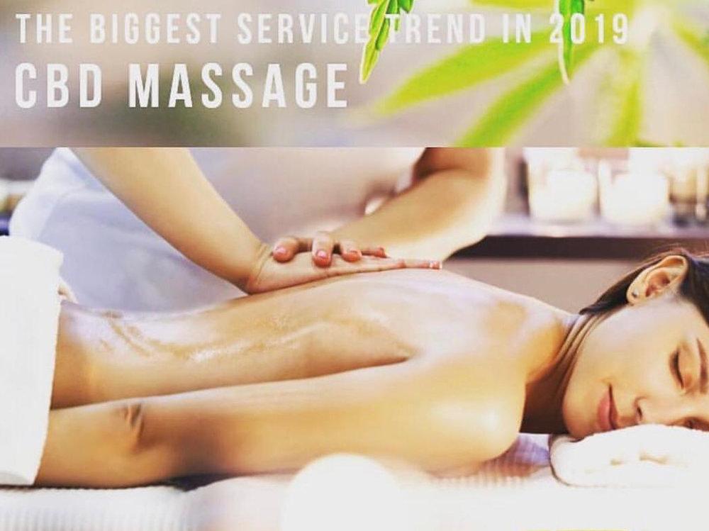 massage cbd