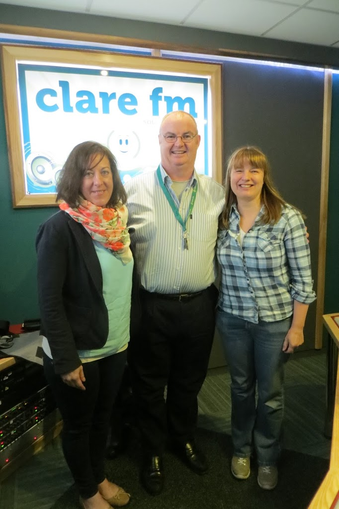 Photo of Christine, Pat Flynn, from ClareFM and me