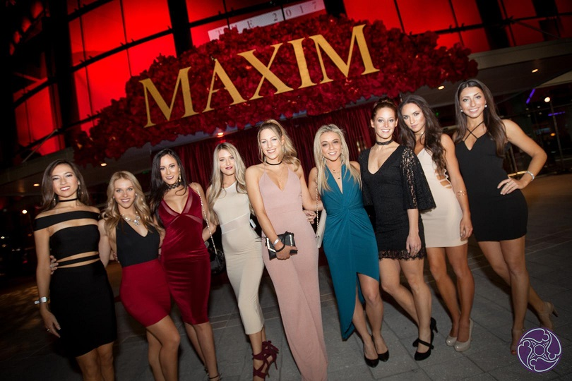 Maxim's Finest Models at the 2017 Maxim Super Bowl Party
