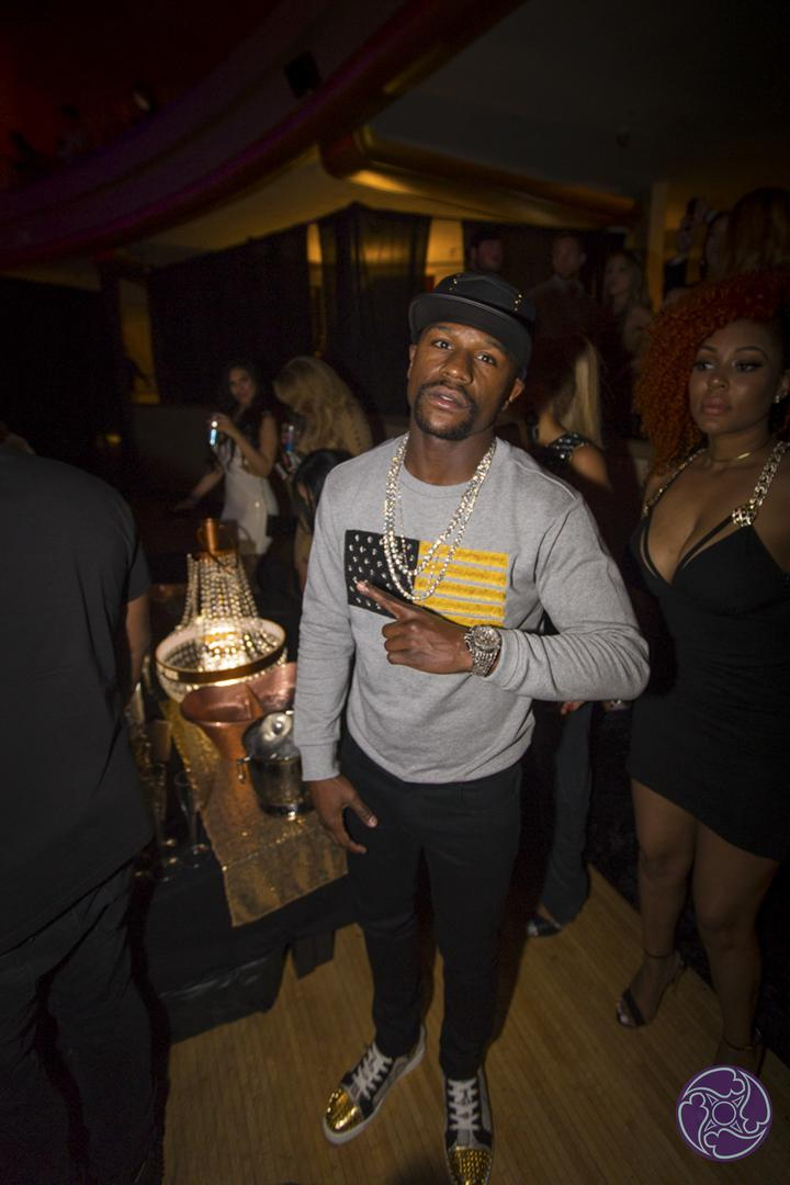 Floyd Mayweather at the 2016 Maxim Hot 100 Party